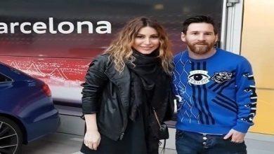 Photo of يارا تلتقي ميسي في برشلونة قبل الكلاسيكو