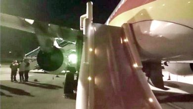 Photo of شعر بالحر وفتح الباب قبل توقف الطائرة
