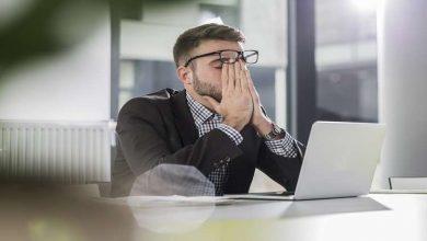 Photo of دراسة: الإجهاد في العمل قد يفقدك بصرك!