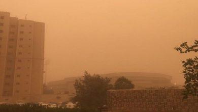 Photo of توقف حركة الطيران بالكويت بسبب سوء الأحوال الجوية (صورة)