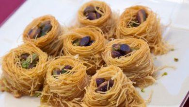 Photo of بالفيديو ..طريقة عمل  بقلاوة (كنافة عش البلبل) تحلية شهية