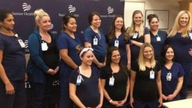 Photo of شاهد بالفيديو.. حمل جماعي ل16 ممرضة يعملن في قسم واحد