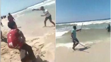 Photo of في مصر .. هذا ما سيحصل لك إن دافعت عن زوجتك !  ( فيديو )