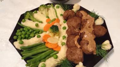 Photo of طريقة عمل كرات اللحم السويدية المميزة (فيديو)