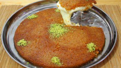 Photo of الكنافة النابلسية حضريها في مطبخك ولعائلتك خلال ساعة (فيديو)