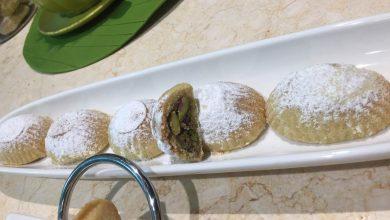 Photo of تحضير حشوة المعمول بلفستق وسر اللون والطعم أطيب من الجاهز (فيديو)
