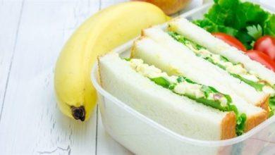 Photo of أفكار لغداء صحي للطفل في المدرسة