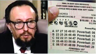 Photo of عالم رياضيات يفوز باليانصيب 14 مرة !