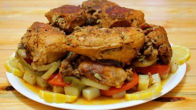 Photo of طريقة عمل الدجاج مع الخضار لغداء أو عشاء فاخر (فيديو)