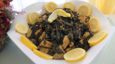 Photo of طريقة تحضير الملوخيه الخضراء بالدجاج (فيديو)