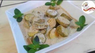 Photo of مطبق الكوسا من الاكلات السهلة والسريعة والبسيطة (فيديو)