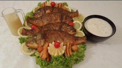 Photo of السمك المقلي مع طريقة تنظيفه وكشف سر القرمشة اللذيذة (فيديو)
