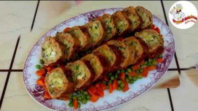 Photo of طريقة عمل رول الدجاج بحشوة البطاطا وصفة مميزة وشهية (فيديو)