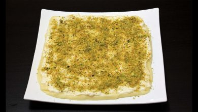 Photo of طريقة عمل حلاوة الجبن المعجوقة الحمصية الأصلية (فيديو)