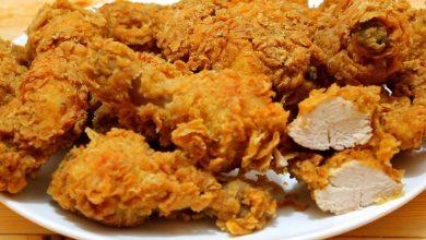 Photo of بروستد الدجاج مثل كنتاكي أصدق و أفضل طريقة (فيديو)