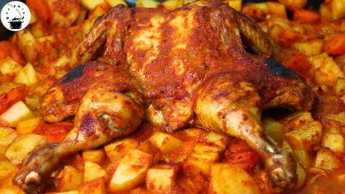Photo of الدجاج المسحب او مسحب الدجاج على الأصول (فيديو)