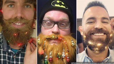 Photo of بالصور زينة جديدة للرجال مرتبطة باللحية خلال عيد الميلاد ورأس السنة
