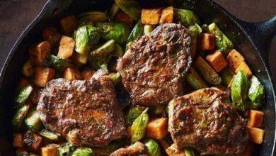 Photo of شرائح اللحم مع الخضار: طبق لذيذ حضّره اليوم على الغداء