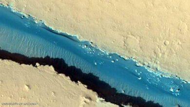 "Photo of صور فضائية من ""الكوكب الأحمر"" تثير الدهشة"