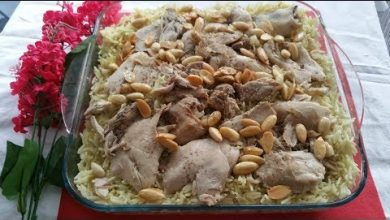 Photo of طريقة عمل فتة الدجاج بالرز (فيديو)