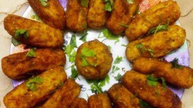 Photo of طريقة عمل اصابع واقراص البطاطا باللحم (فيديو)