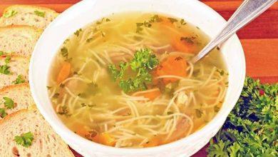 """Photo of حساء الخضار بنكهة الدجاج: طبق دافئ """"هلق وقتو!"""""""
