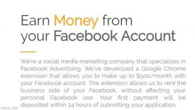 Photo of مستخدمون في فيسبوك يؤجرون حساباتهم.. والنتائج وخيمة