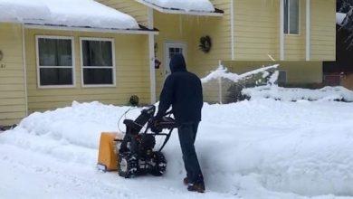 Photo of أمريكي يجني 35 ألف دولار في 4 أيام من إزالة الثلوج
