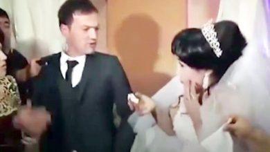 Photo of داعبت عريسها.. فتحولت حفلة زفافها إلى «معركة»