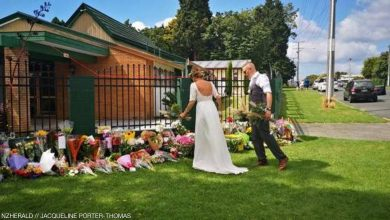 """Photo of تزوجا بيوم """" نيوزيلندا الأ سو د """" و قاما بفعلة استثنائية ( صور )"""