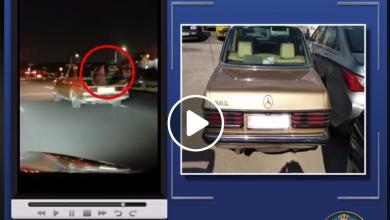 Photo of ضبط سائق وضع منقل شواء مشتعل في صندوق المركبة أثناء المسير – فيديو