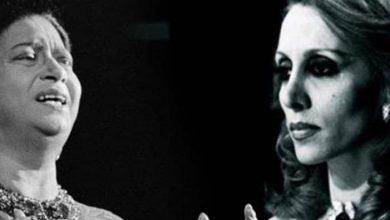 Photo of لقاء العمالقة .. قبلة نادرة بين أم كلثوم وفيروز – صورة