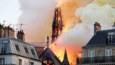 "Photo of مشهد سينمائي تنبأ باختفاء كاتدرائية ""نوتردام"" الفرنسية (فيديو وصور)"