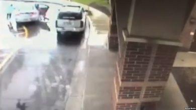 Photo of بالفيديو.. صبي ينقذ شقيقته من الخطف