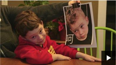 Photo of شاهد الطفل الأمريكي الذي يتابعه الملايين في الصين بسبب تعابير وجهه