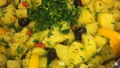 Photo of طريقة عمل سلطة البطاطا التركية بالخضار روعة (فيديو)