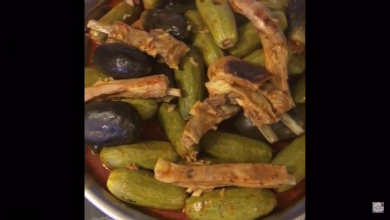 Photo of طريقة محشي كوسا وباتنجان و ورق دوالي مع أطيب وصفة (فيديو)