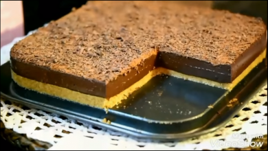 Photo of من الذ واطيب الحلويات البارده من غير بيض ومن غير كريمة (فيديو)