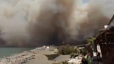 Photo of فيديو إنقاذ عائلة سورية في البحر هربت من الحر. ائق المشت. علة وراءها
