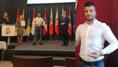 Photo of النمسا : تكريم لاجئ سوري نال المرتبة الأولى في جامعته